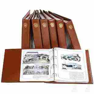 A group of seven books by Schmitt/Mebanol on Hausser,