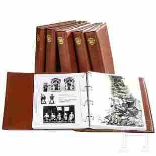 A group of six books by Schmitt/Mebanol on Hausser,