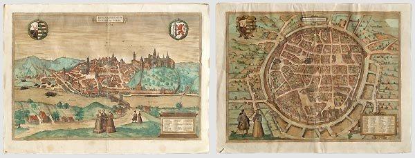 44: Stadtansichten von Freiberg und Meissen