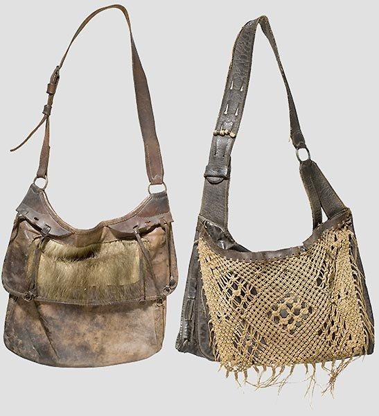 57: Zwei Jagdtaschen,