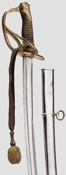 4025: Säbel M 1822-99 für Offiziere