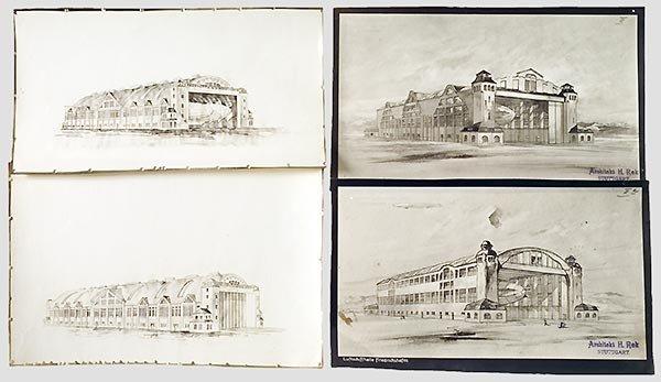 7023: Vier Architekturbilder