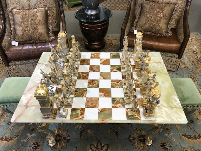 Incredible Charlemagne Chess Set