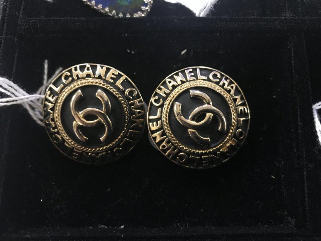 2 Chanel Clip Earrings