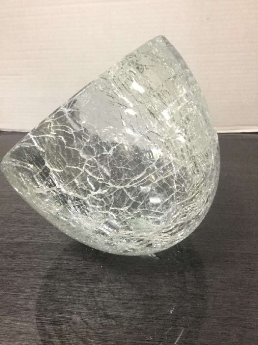 Murano Italian Alfredo Barbini Sculptural Bowl - 2