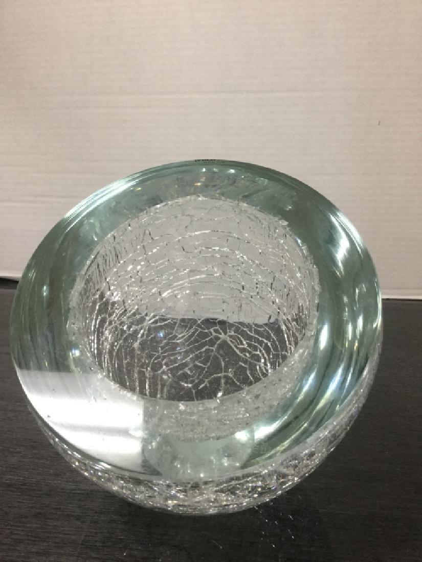 Murano Italian Alfredo Barbini Sculptural Bowl - 5