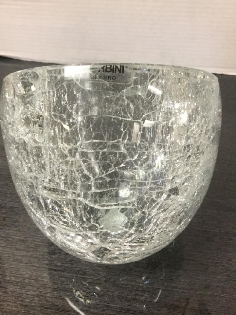 Murano Italian Alfredo Barbini Sculptural Bowl - 7