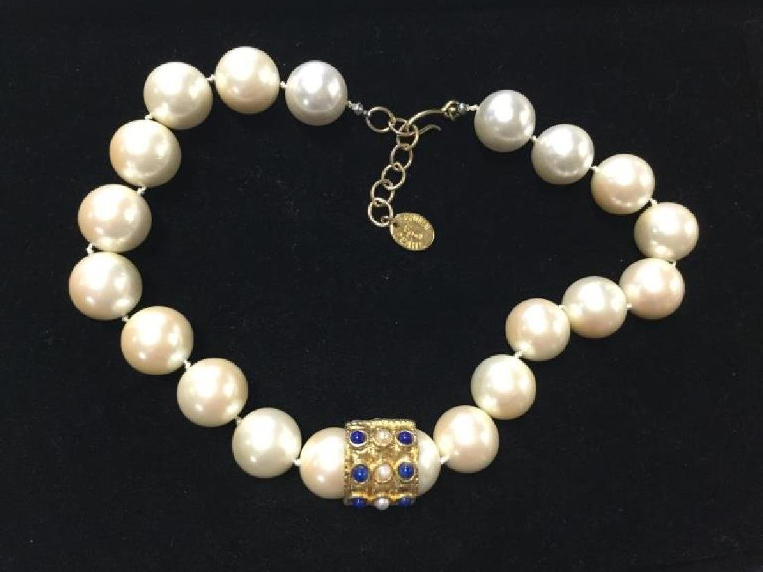 Erwin Pearl Costume Necklace