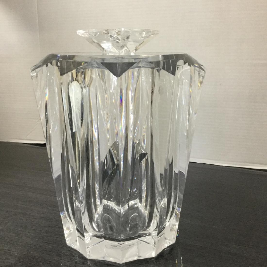 Judith Kruger Lucite Ice Bucket