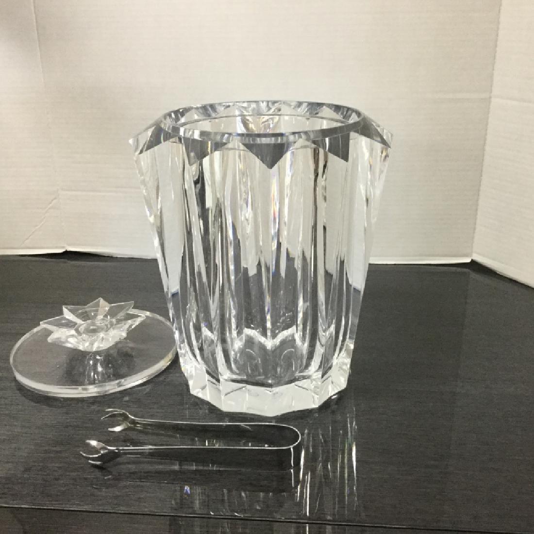 Judith Kruger Lucite Ice Bucket - 9