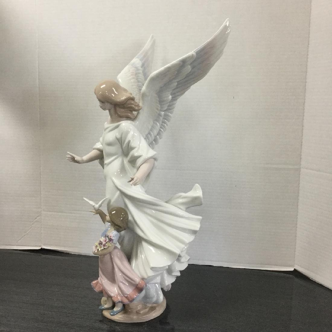 "Lladro Limited Edition 6352 ""Guardian Angel"" - 7"