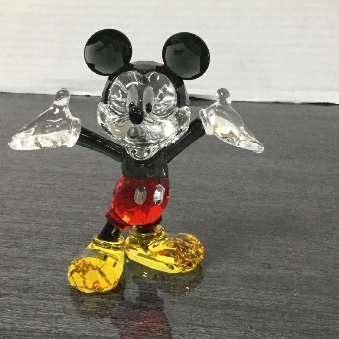Swaroski Disney Mickey Mouse Crystal Figurine