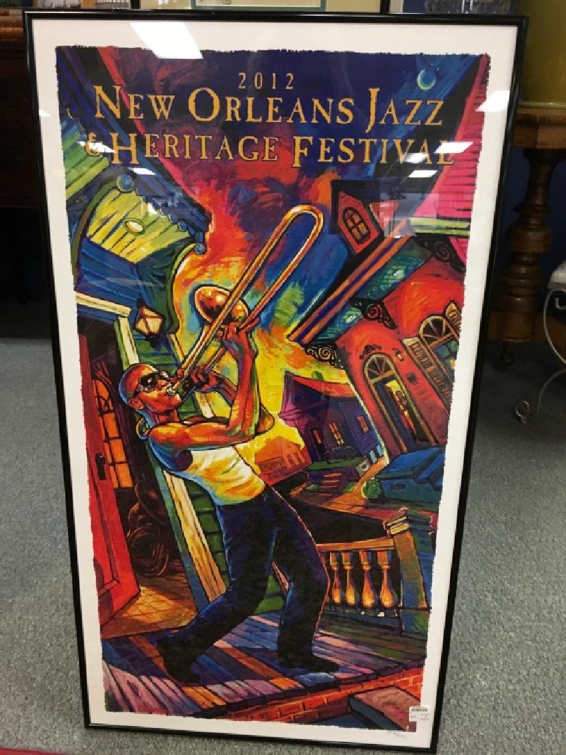 2012 New Orleans Jazz & Heritage Festival Poster