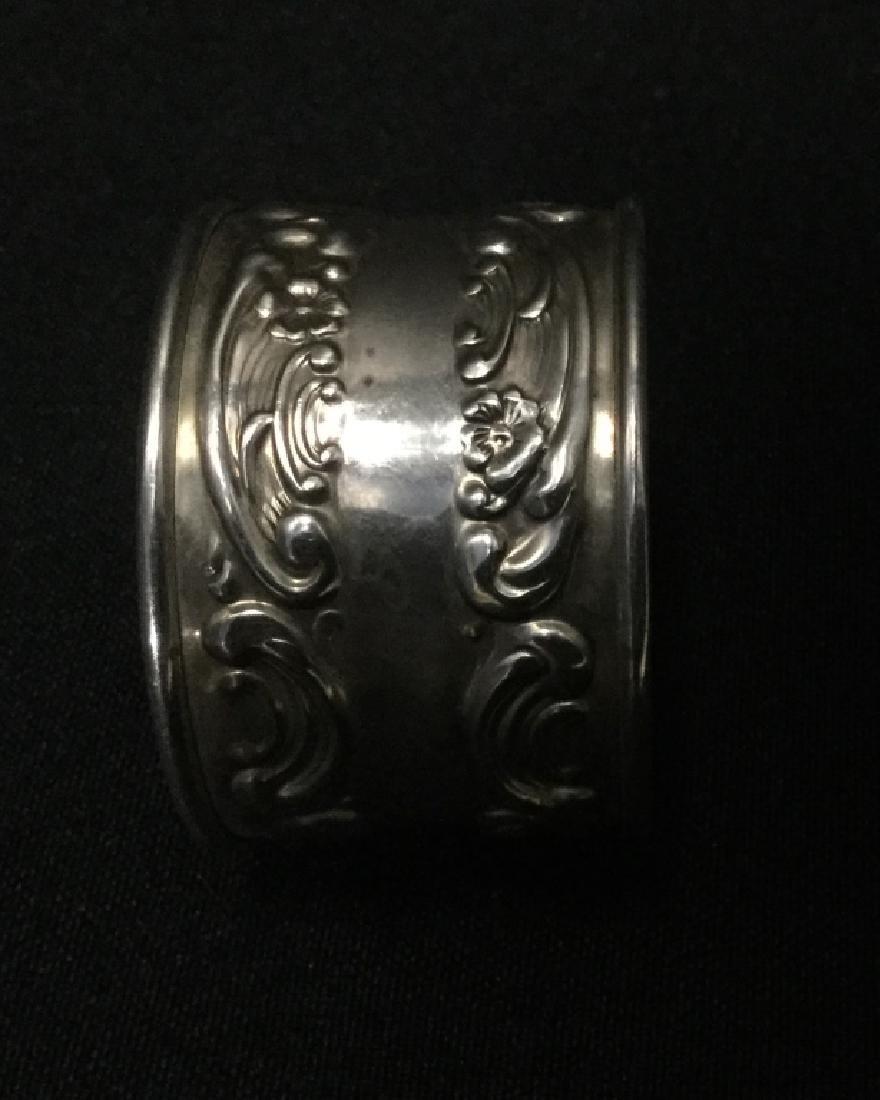 Gorham Sterling Silver Napkin Rings- Set of 12 - 4