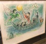 Marc Chagall Rare Limited Edition Lithograph