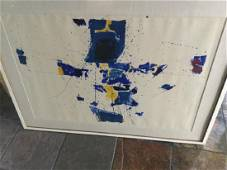 Sam Francis Limited Edition Lithograph in Colors