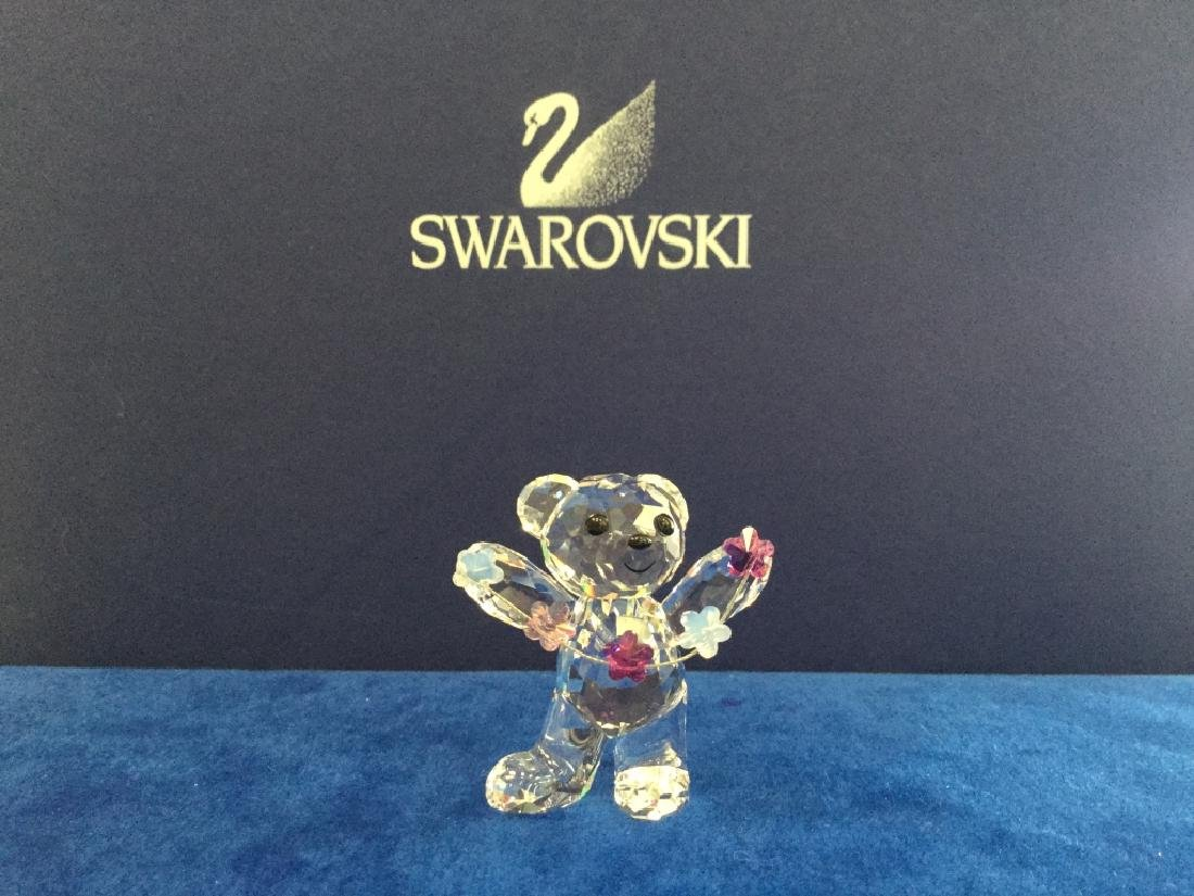 SWAROVSKI KRIS BEAR - FLOWERS FOR YOU 1016620