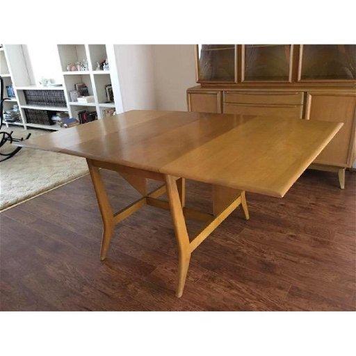 Heywood Wakefield Erfly Leaf Dining Table