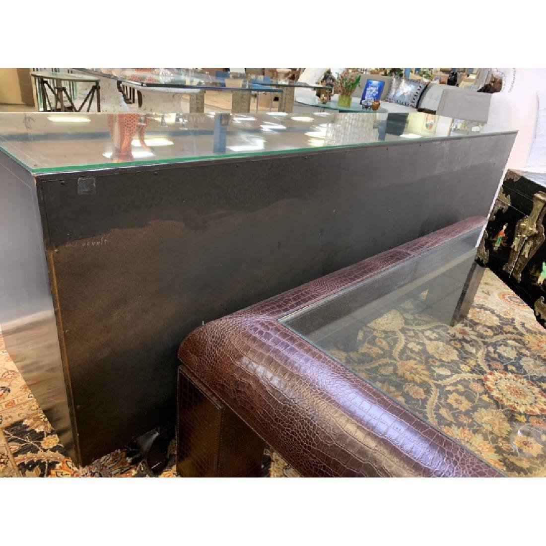 AMERICAN BY MARTINSVILLE CHINOISERIE CREDENZA - 10