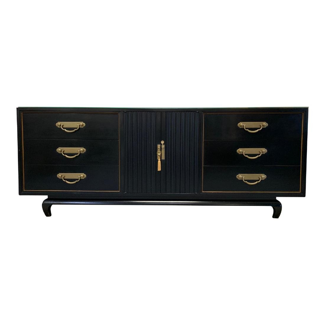 AMERICAN BY MARTINSVILLE CHINOISERIE CREDENZA
