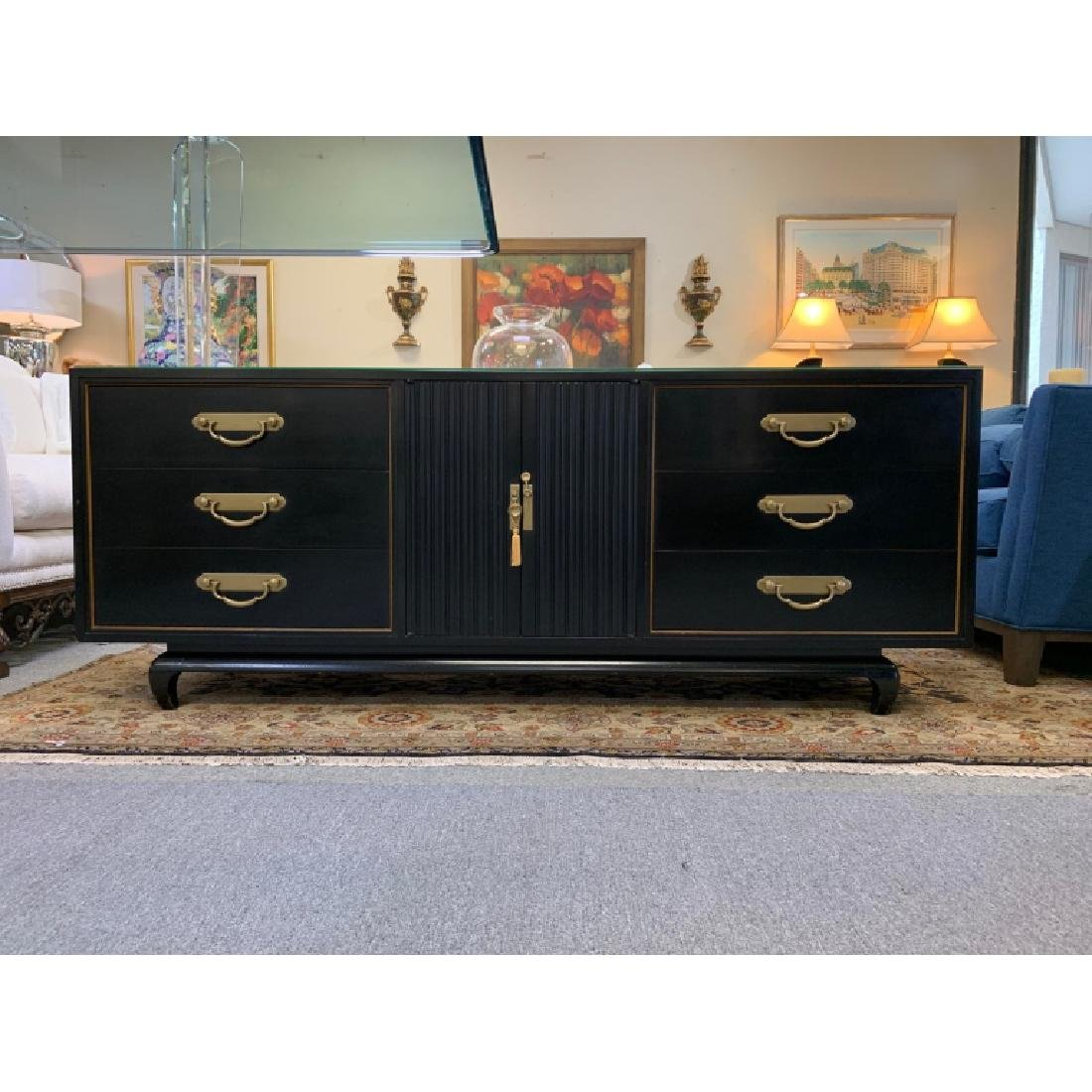 AMERICAN BY MARTINSVILLE CHINOISERIE CREDENZA - 2