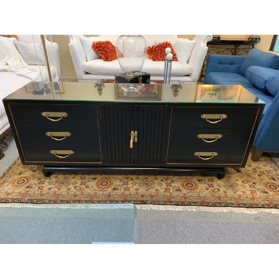 AMERICAN BY MARTINSVILLE CHINOISERIE CREDENZA - 3