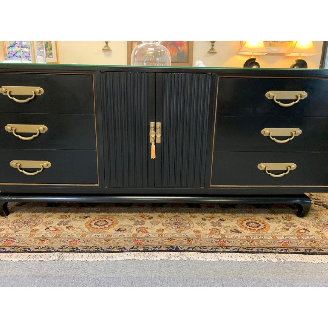 AMERICAN BY MARTINSVILLE CHINOISERIE CREDENZA - 4