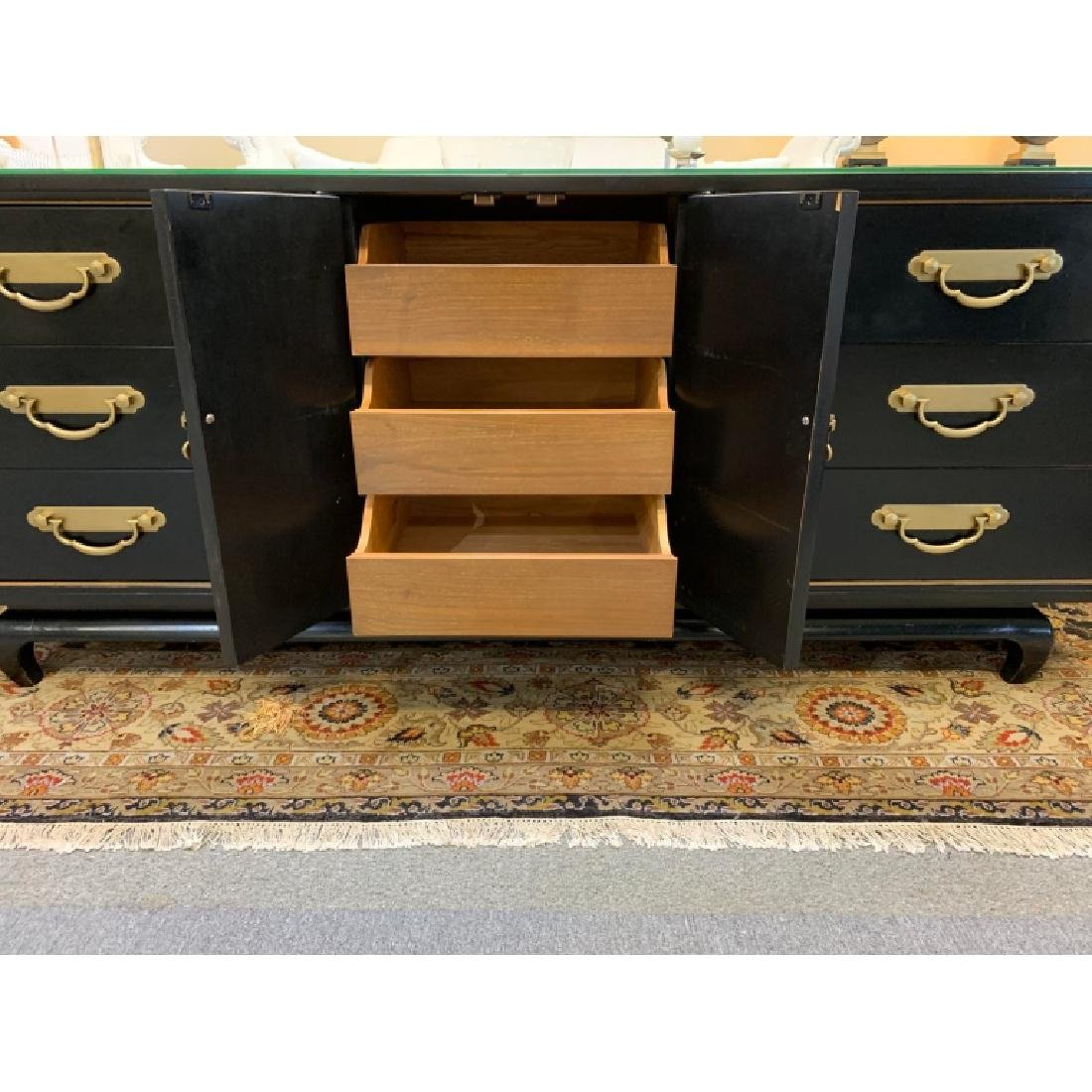 AMERICAN BY MARTINSVILLE CHINOISERIE CREDENZA - 5