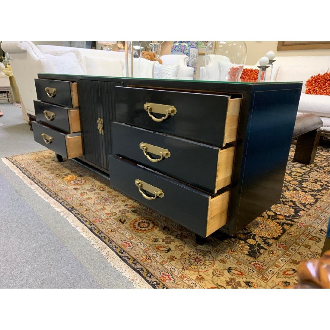 AMERICAN BY MARTINSVILLE CHINOISERIE CREDENZA - 7