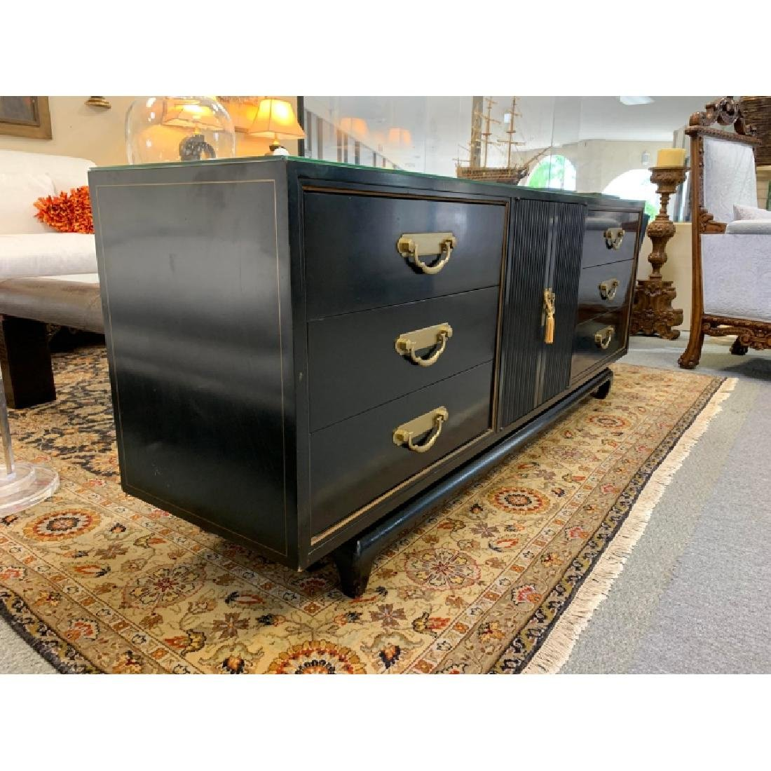 AMERICAN BY MARTINSVILLE CHINOISERIE CREDENZA - 8