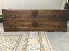 ANTIQUE CHINESE WOOD CHEST