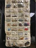 LOT OF 100+PIECES OF VINTAGE /COSTUME JEWELRY