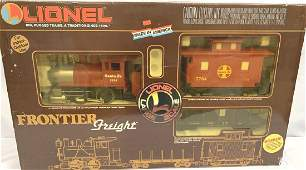 LIONEL FRONTIER FREIGHT TRAIN SET IN BOX  881002