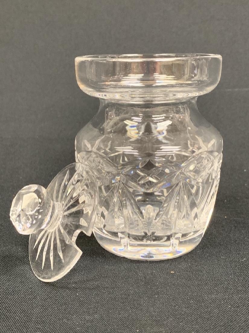 2 PIECES OF WATERFORD CRYSTAL - 10