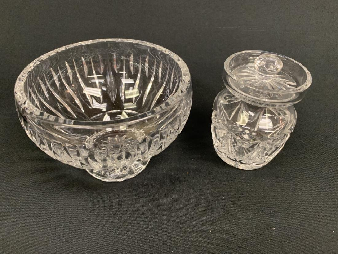 2 PIECES OF WATERFORD CRYSTAL - 2