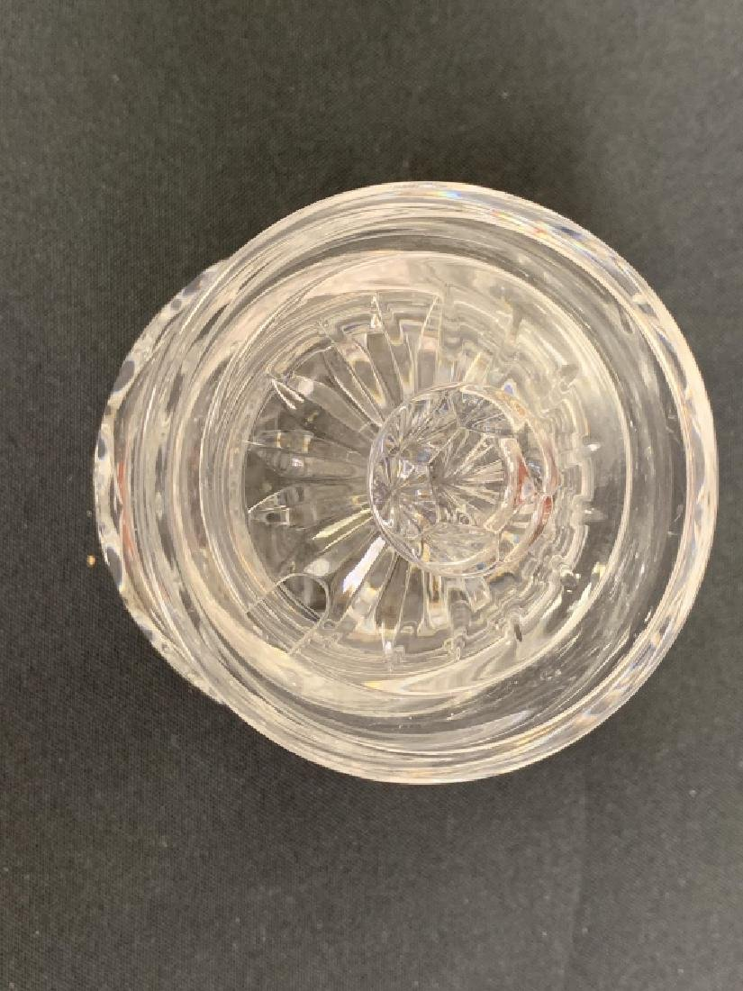 2 PIECES OF WATERFORD CRYSTAL - 8
