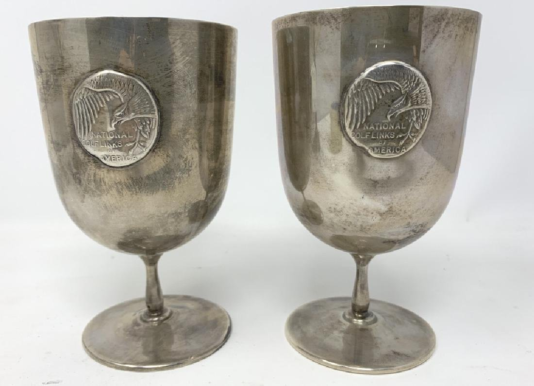 TIFFANY & CO STERLING SILVER VINTAGE CHALICES