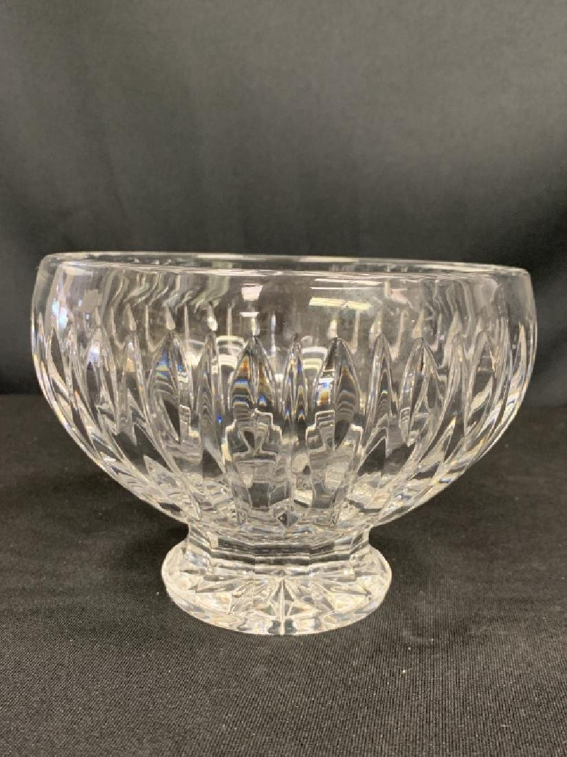 WATERFORD MARQUIS CRYSTAL FOOTED BOWL