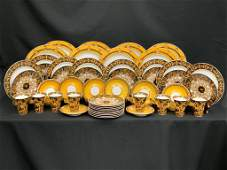 VERSACE BY ROSENTHAL BAROCCO CHINA DINNER WARE SET
