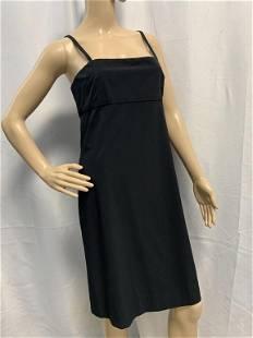 CHANEL BOUTIQUE LITTLE BLACK DRESS SZ 38