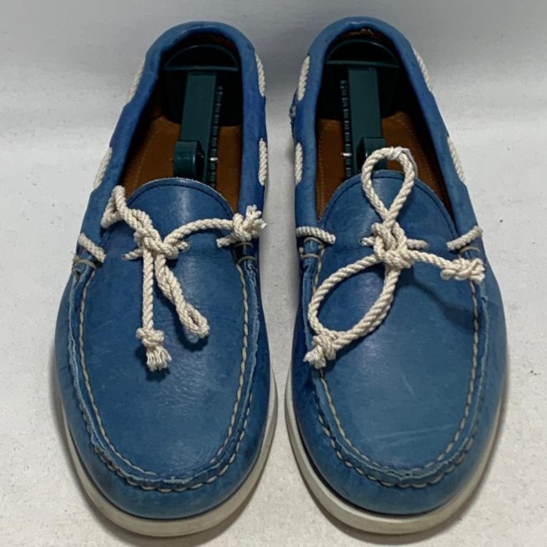 RALPH LAUREN THAD COLLECTION BLUE BOAT SIZE 10