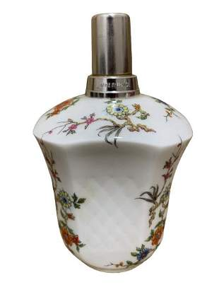 VTG BERGER PARIS GIRAUD LIMOGES OIL LAMP