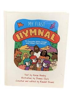 VINTAGE MY FIRST HYMNAL BY KARYN HENLEY
