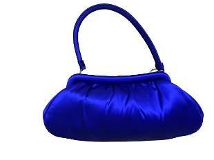BANANA REPUBLIC BLUE EVENING BAG