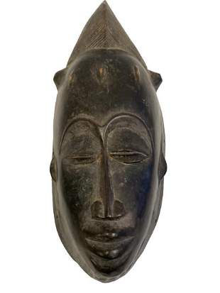 HAND CARVED AFRICAN TRIBAL MASK 14