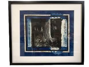 PEGGY REEVES FRAMED OG ABSTRACT ART 1125 x 132