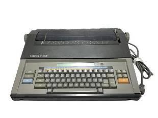 VINTAGE CANON S68S TYPEWRITER