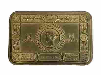 WWI BRITISH SOLDIER PRINCESS MARY GIFT FUND BOX
