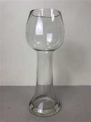 MID CENTURY MODERN ART GLASS DRINKING VESSEL 11