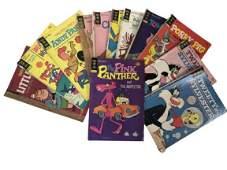 12 ASSORTED GOLD KEY COMIC BOOKS